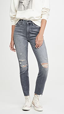 High Waisted Looker Ankle Nick Fray