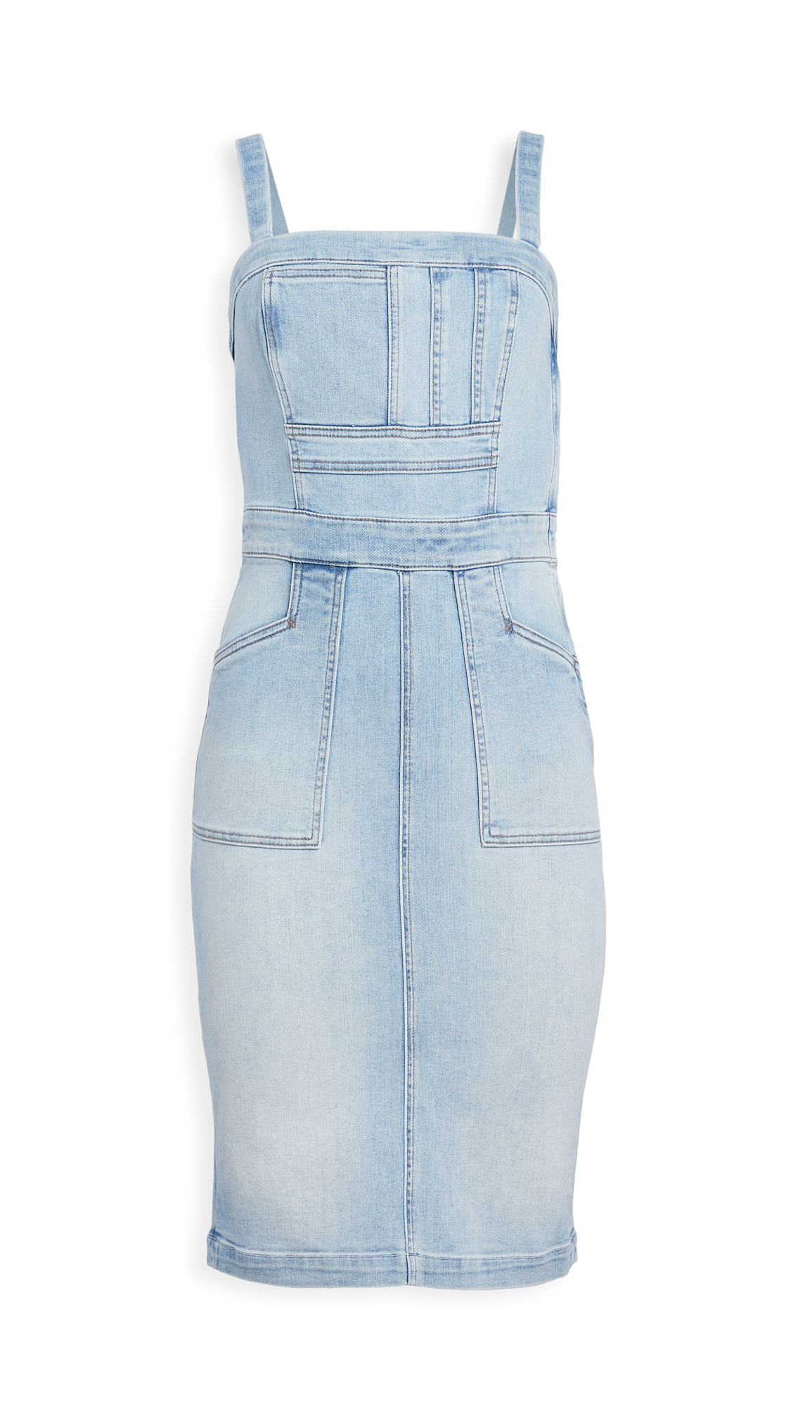 MOTHER Pocket Hustler Overall Dress