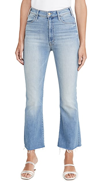 MOTHER The Hustler Ankle Fray Jeans
