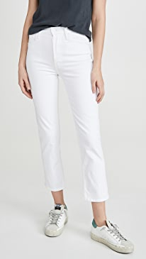 The Tomcat High Waist Cropped Straight Jeans