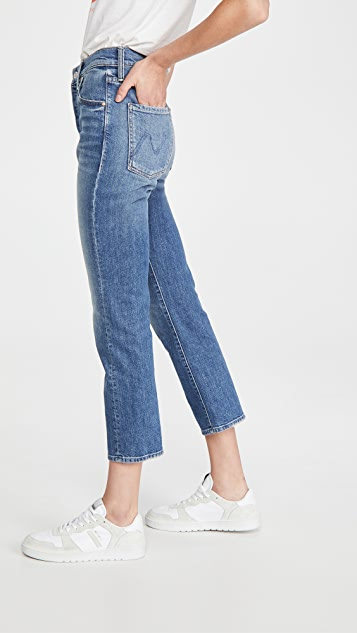 MOTHER The Scrapper Ankle Jeans