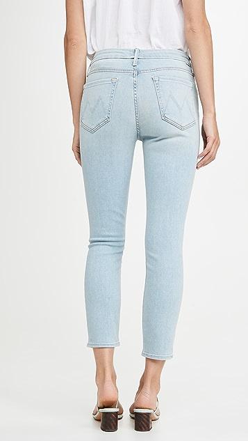 MOTHER Укороченные джинсы Looker