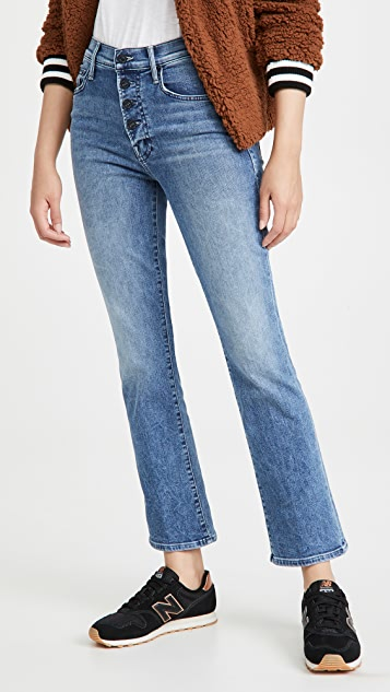 MOTHER The Pixie Insider Ankle Jeans
