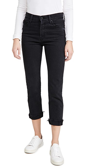 MOTHER MOTHER Superior The Scrapper Cuff Ankle Jeans - WhoS Sorry Now