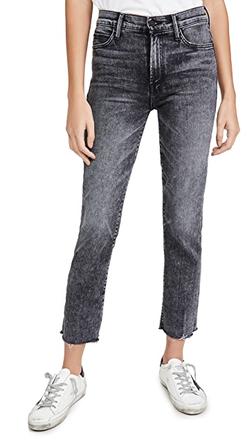 MOTHER 高腰及踝平价牛仔裤
