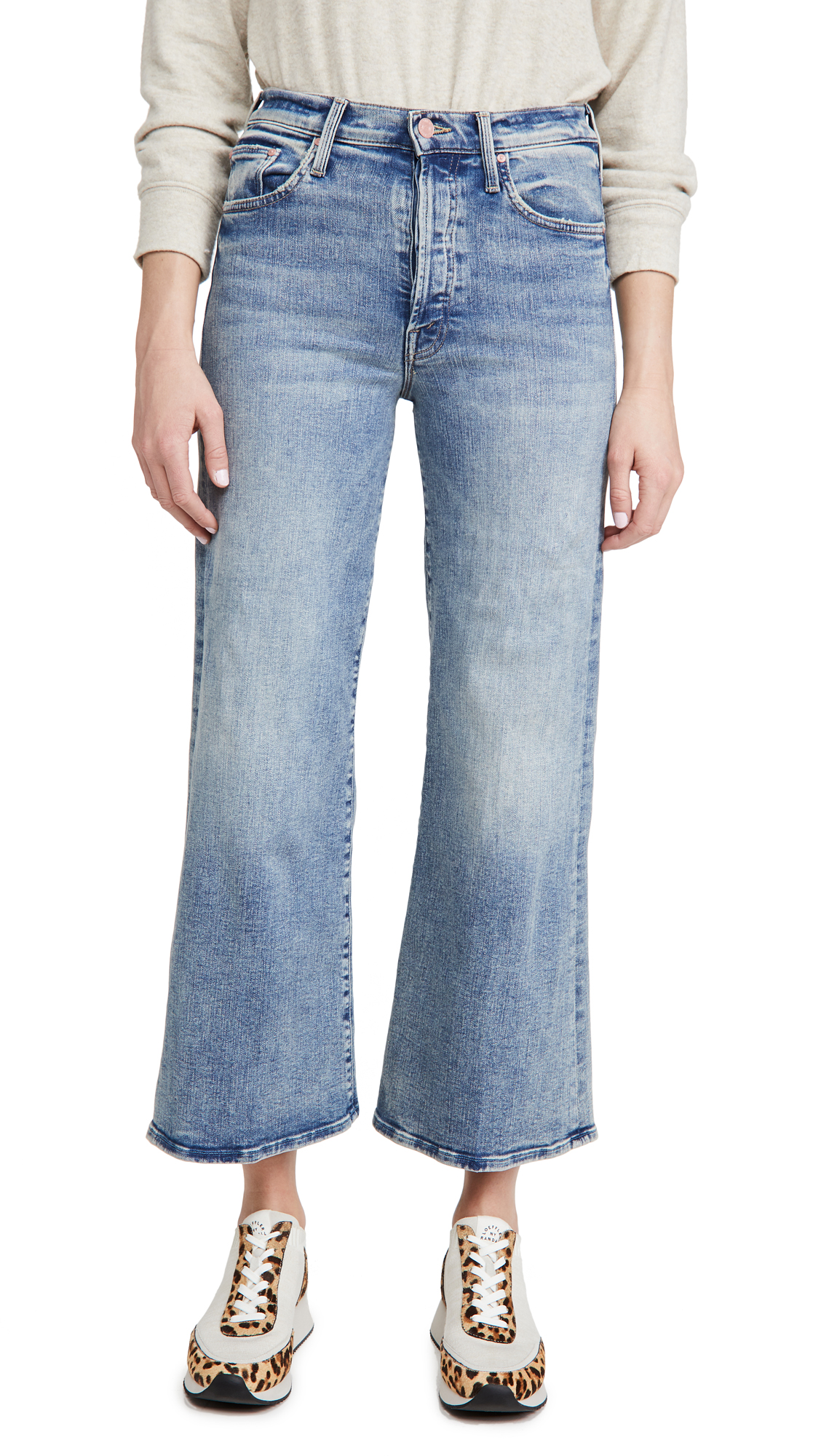 MOTHER The Tomcat Roller Ankle Jeans