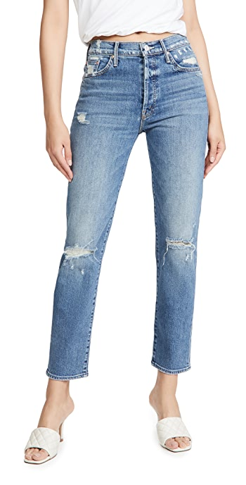 MOTHER Mother Superior The Trickster Ankle Jeans - On Holy Ground