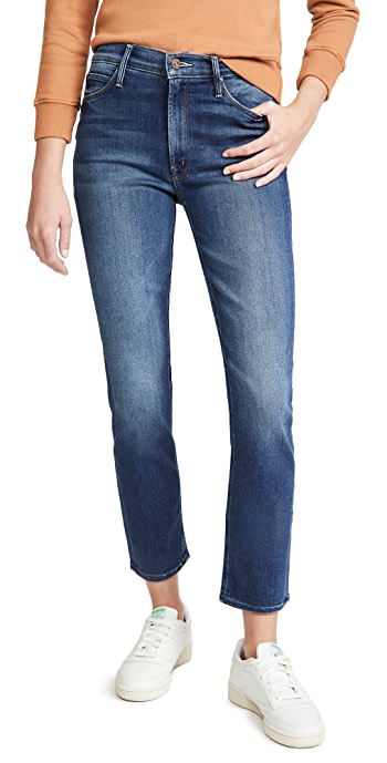 MOTHER The Mid Rize Dazzler Ankle Jeans - Sweet And Sassy