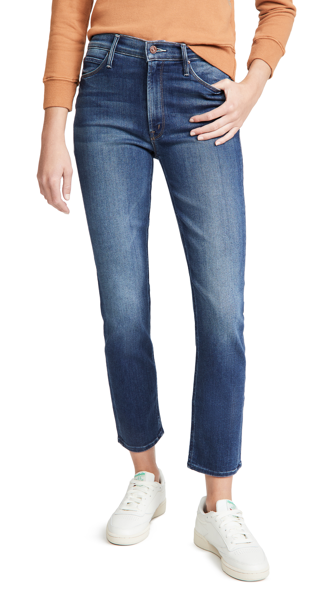 MOTHER The Mid Rize Dazzler Ankle Jeans