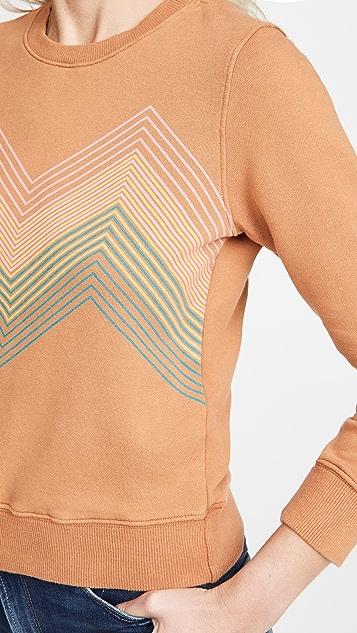 MOTHER The 3/4 Sleeve Koozie Sweatshirt