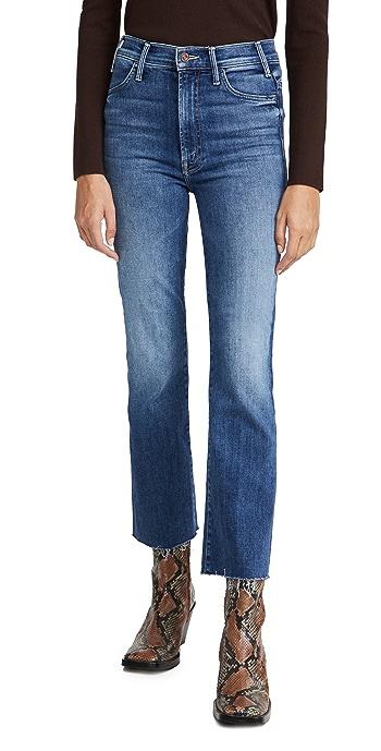 MOTHER Hustler Ankle Fray Jeans - Satisfaction Guarenteed