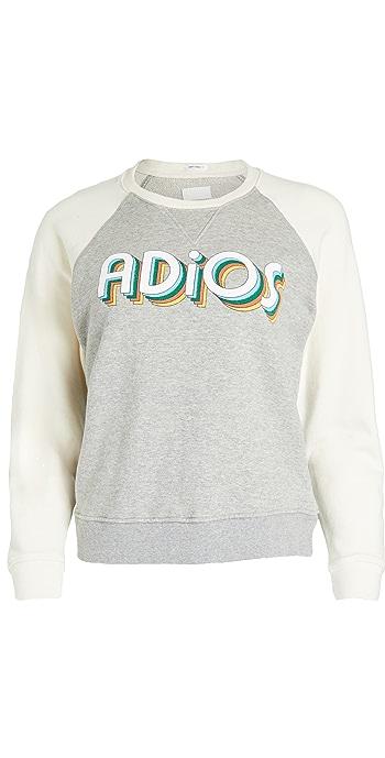 MOTHER The Square Sweatshirt - Adios