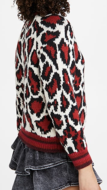 MOTHER The Boat Square Sweater