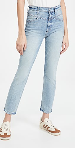 MOTHER - The Dazzler Yoke Front Ankle Jeans