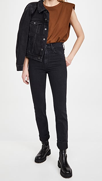 MOTHER High Waisted Rider Skimp Jeans