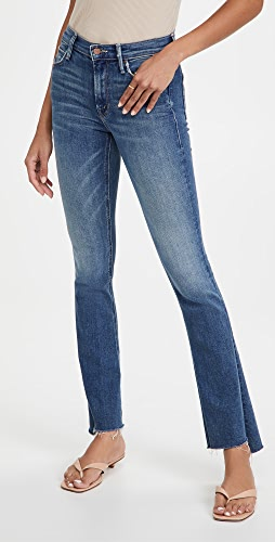 MOTHER - The Runaway Step Fray Jeans