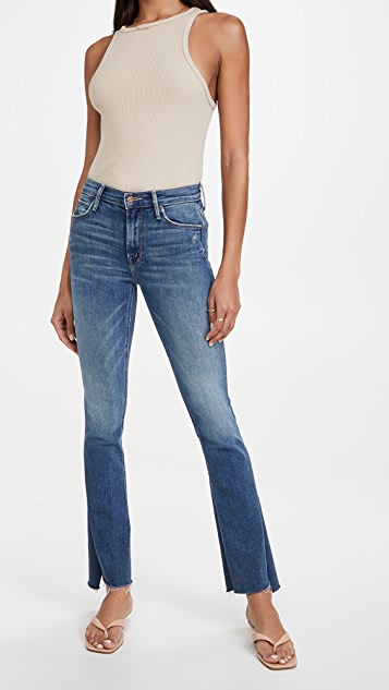 MOTHER The Runaway Step Fray Jeans
