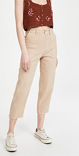 MOTHER - The Patch Pocket Private Ankle Jeans