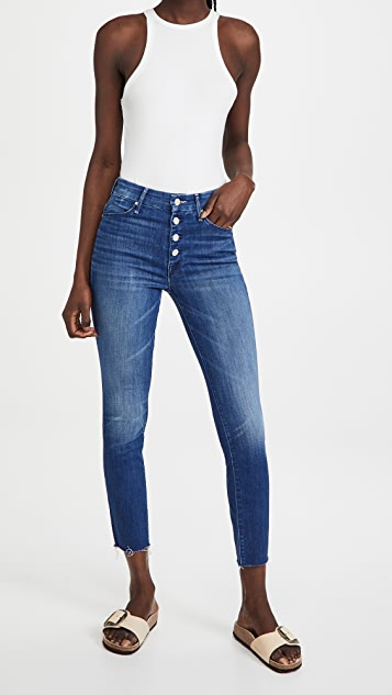 MOTHER The Pixie Ankle Fray Jeans