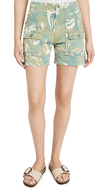 MOTHER The Rambler Patch Pocket Shorts
