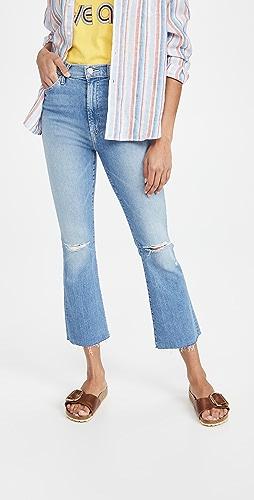 MOTHER - The Hustler Ankle Fray Jeans