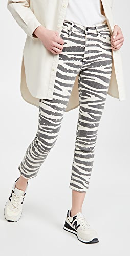 MOTHER - The Mid Rise Dazzler Ankle Jeans