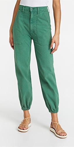 MOTHER - The Wrapper Patch Springy Ankle Pants