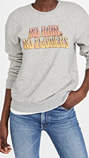 MOTHER The Drop Warm Up Sweatshirt