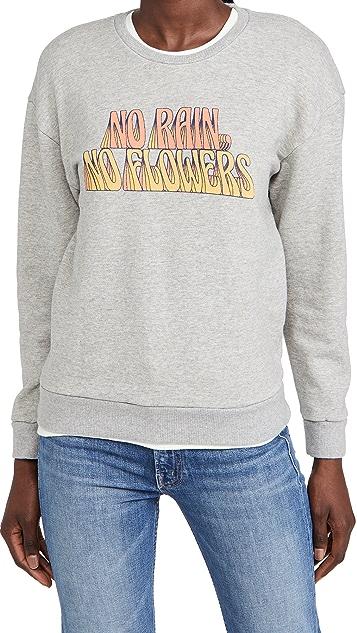 MOTHER The Drop Warm Up Sweatshirt