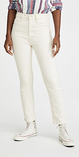 MOTHER - High Waisted Rider Ankle Jeans