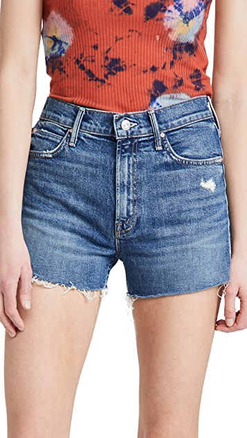 MOTHER The Dutchie Frayed Shorts