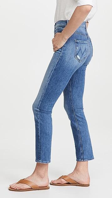 MOTHER Dazzler 中腰及踝牛仔裤