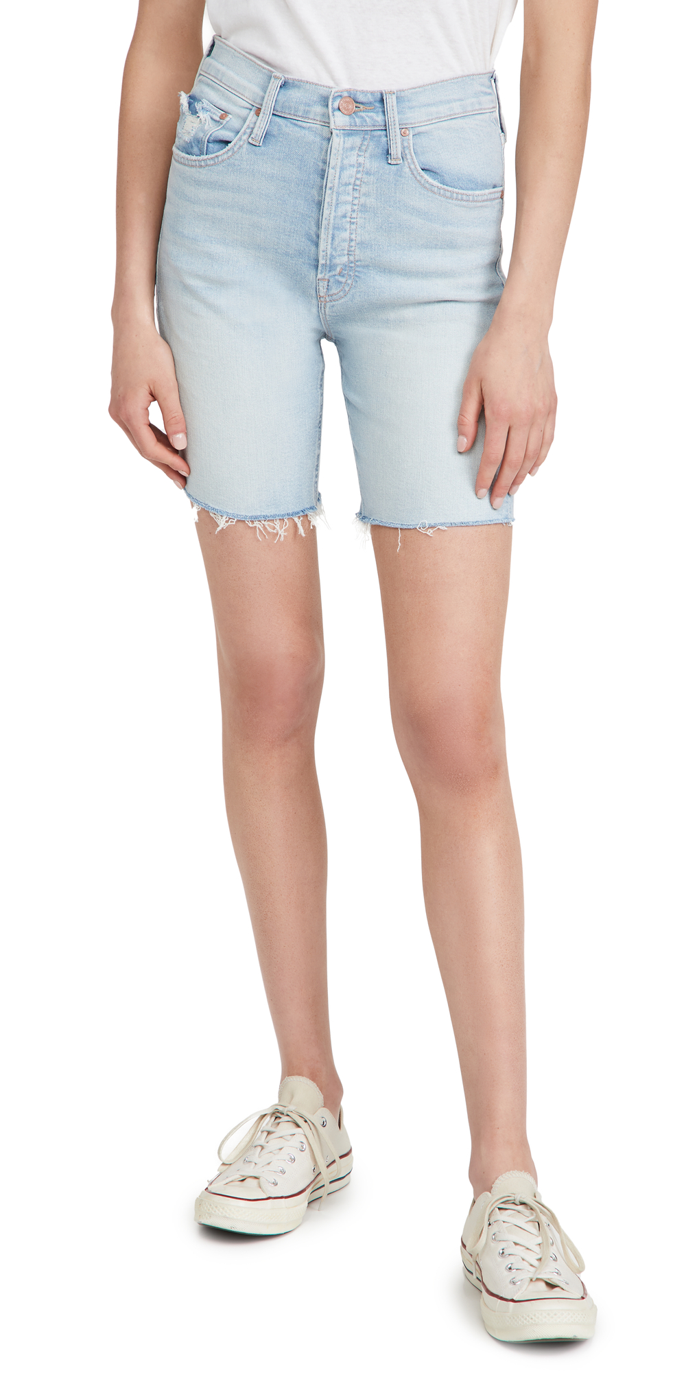 MOTHER The Tripper Cutoff Fray Shorts