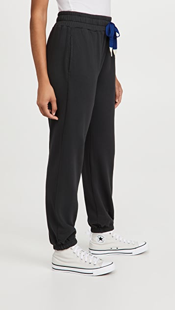 MOTHER Move It! The Knock Out Ankle Sweatpants