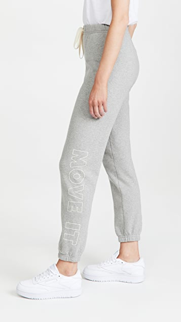 MOTHER Move It! The Bender Ankle Sweatpants