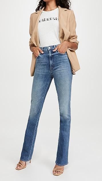 MOTHER Smokin' Double Heel Jeans