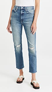 MOTHER High Waisted Rider Ankle Jeans