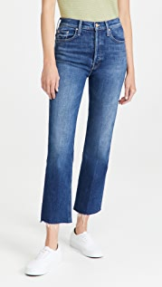 MOTHER The Tripper Ankle Fray Jeans