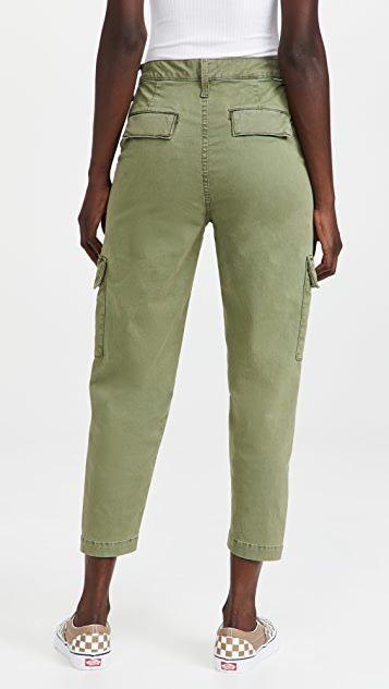 MOTHER The Catch All Cargo Ankle Jeans