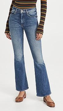 마더 진 청바지 MOTHER The Weekender Jeans,LOVE BOMBS