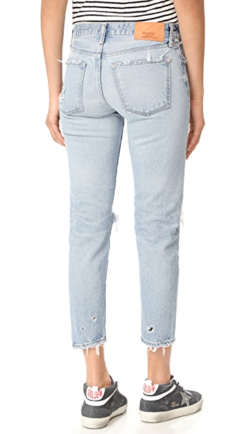 MOUSSY VINTAGE MV Sanford Tapered Jeans