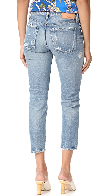 MOUSSY VINTAGE MV Aberdeen Tapered Jeans