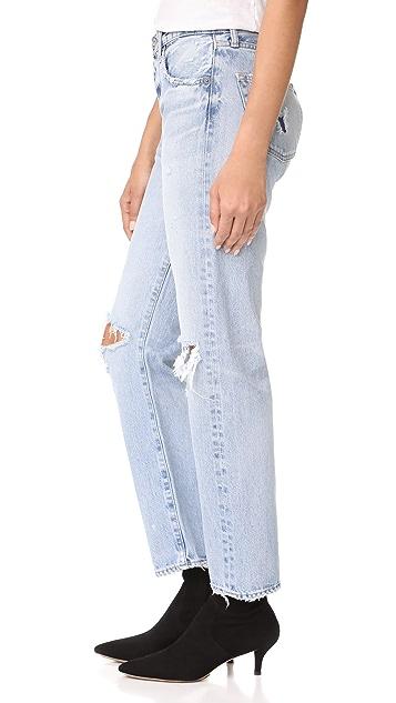 MOUSSY VINTAGE MV Mesa Straight Leg Jeans