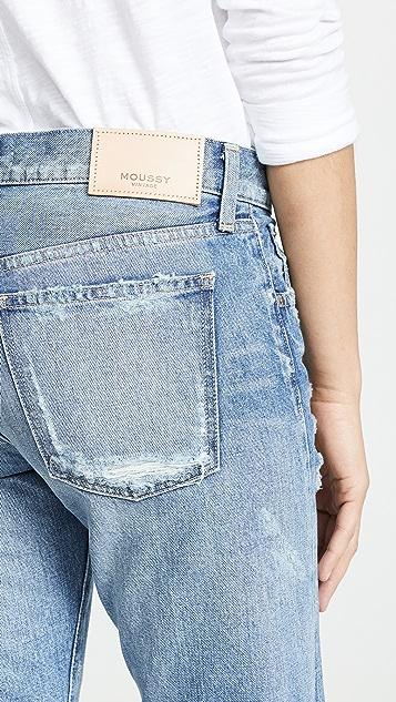 MOUSSY VINTAGE Зауженные джинсы MV Amber