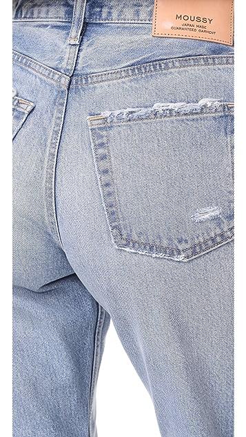 MOUSSY VINTAGE MV Loa Wide Leg Jeans
