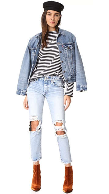 MOUSSY VINTAGE MV May Tapered Jeans