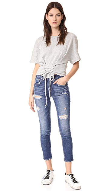 MOUSSY iSKO Comfort Ace Skinny Jeans