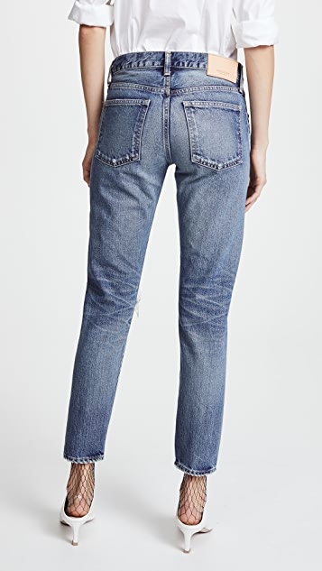 MOUSSY VINTAGE MV Oxnard Tapered Jeans