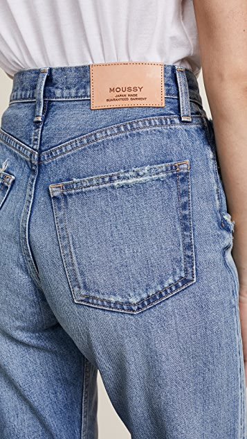 MOUSSY VINTAGE MV Olin Wide Leg Jeans