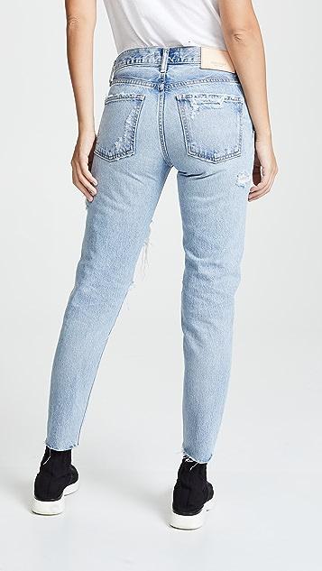 MOUSSY VINTAGE MV Branford Tapered Jeans